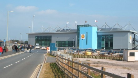 Exeter Chiefs Rugby Club, Sandy Park